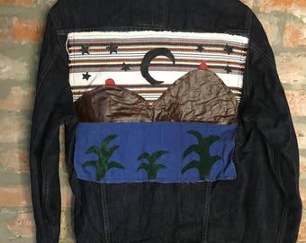 Boob Mountain Jean Jacket