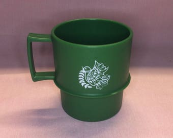 Vintage Tupperware Christmas Cup