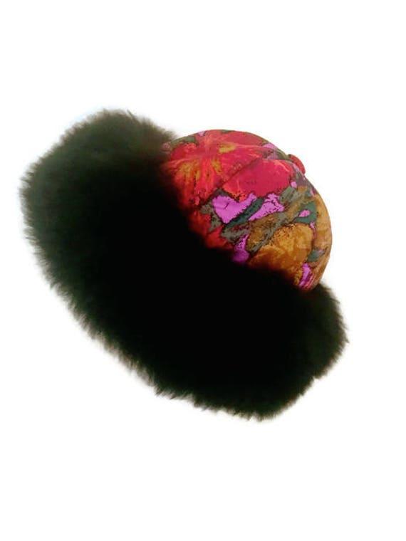 Vintage Sheepskin Hat  Russian Style Dr. Zhivago W