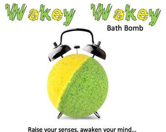 Wakey Wakey Natural Bath Bomb