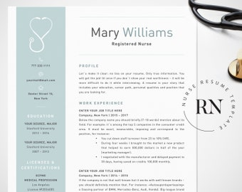 Nurse Resume Template For Word