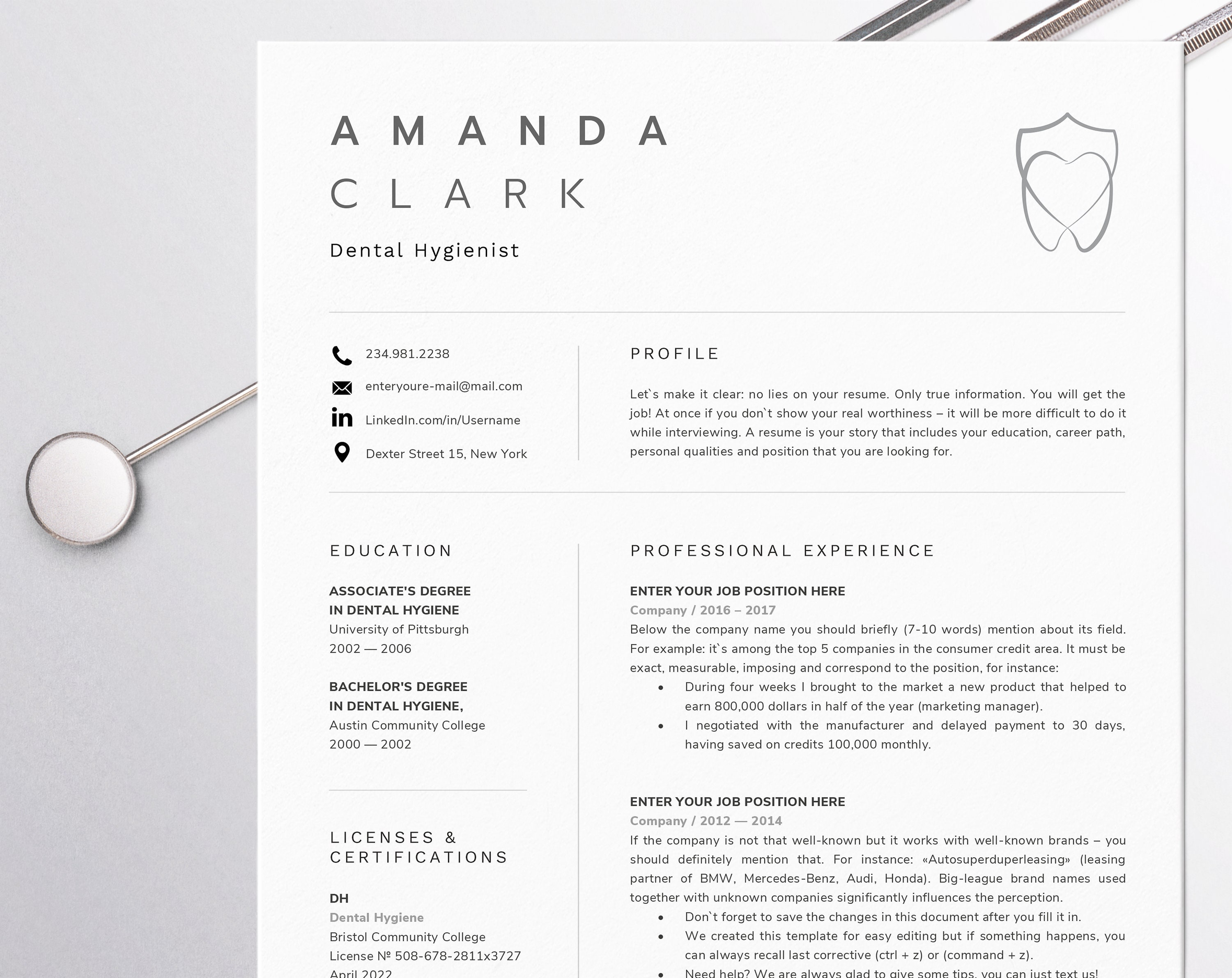 dental assistant resume for word dentist cv template dental