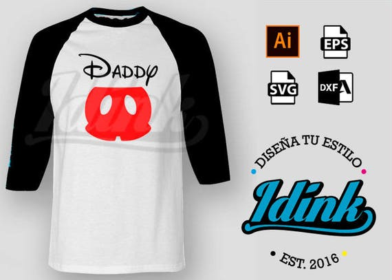 Mickey Mouse Daddaddy Vector Pantalon Vector File Cut For Etsy