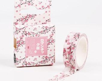 Japanese Pink Cherry Blossom Washi Tape