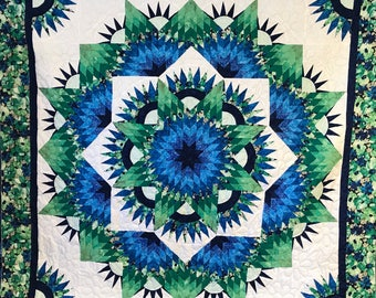 Mariners Compass Star Quilt