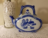Asian oblong teapot
