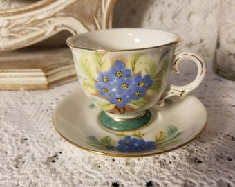 Hong Sheng decorative cup and saucer