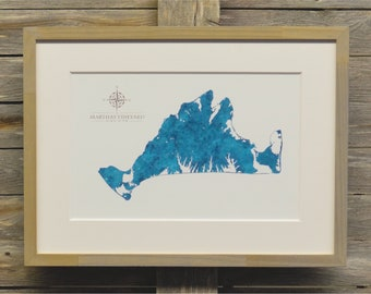 Martha's Vineyard Framed Print