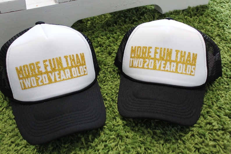 Trucker Hat Custom Hats Custom Trucker Hat 40th Birthday  548a74bddd80