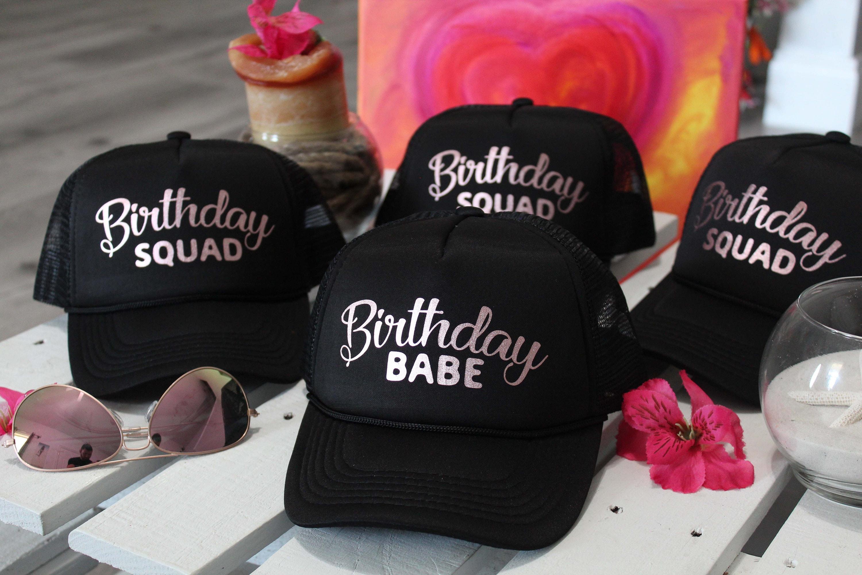 59e0bcb3 Birthday Trucker Hat, Trucker Hats, Custom Trucker Hat, Birthday, Hats, Women  Hats, Birthday Snapback, Hat, Birthday Hats Women, Squad Hat
