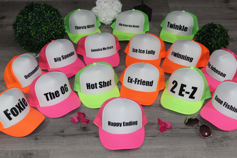 Custom Trucker Hat Hats 40th Birthday Gifts For Women Bachelorette Party