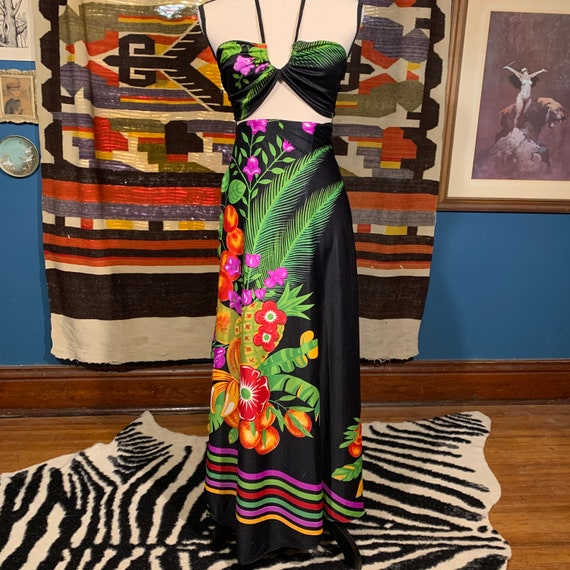 3 Piece 60/70s Bikini W/ Wrap