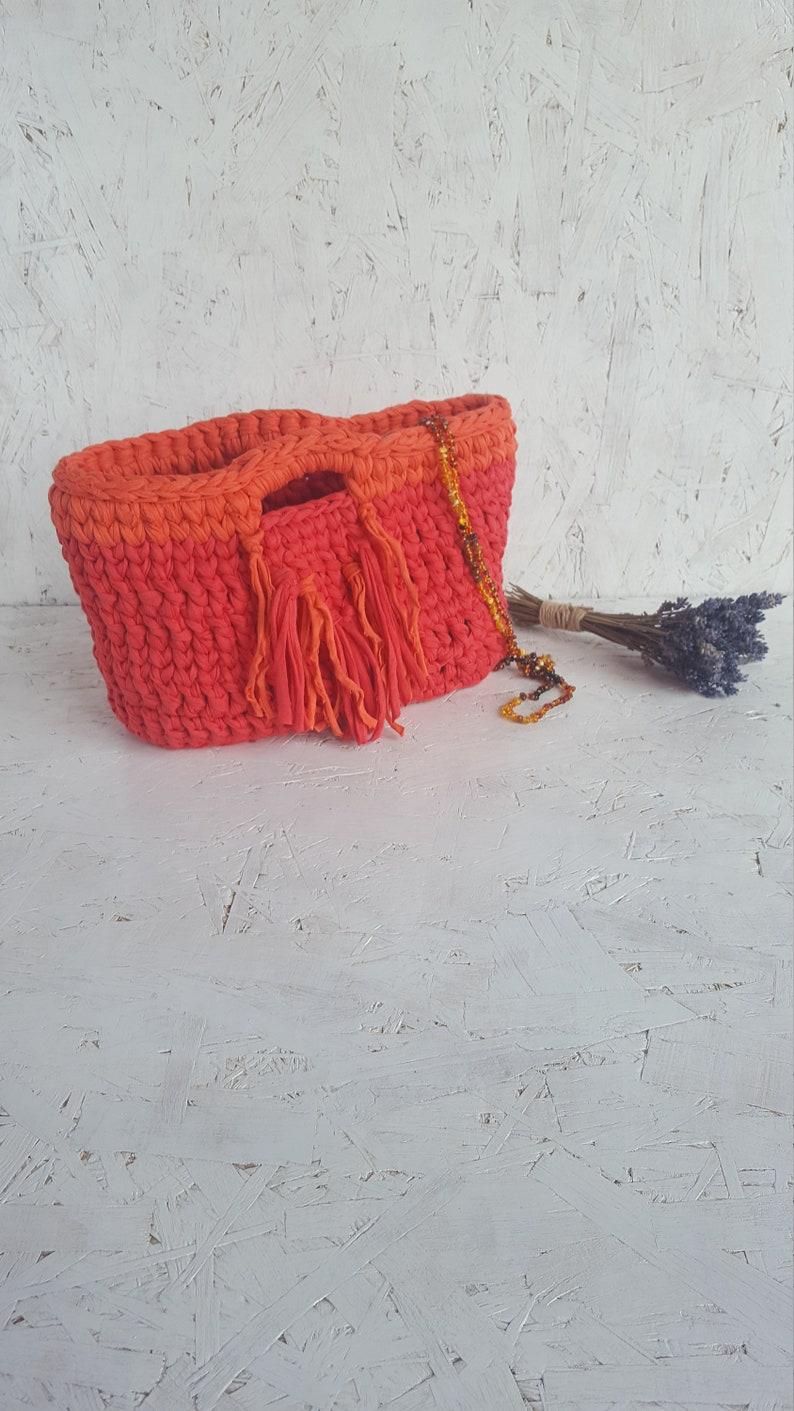 Small handbag for women Handmade purses Small handbags Gift for her Red crochet bag Small crochet bag Mini bag Handmade handbags