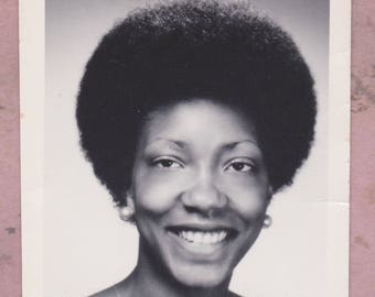 Vintage Photo Baby On Rug African American Black History Etsy