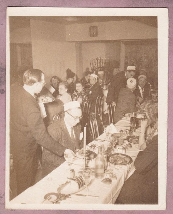 Vintage Photo Jewish Wedding Reception Bukharian Food Etsy