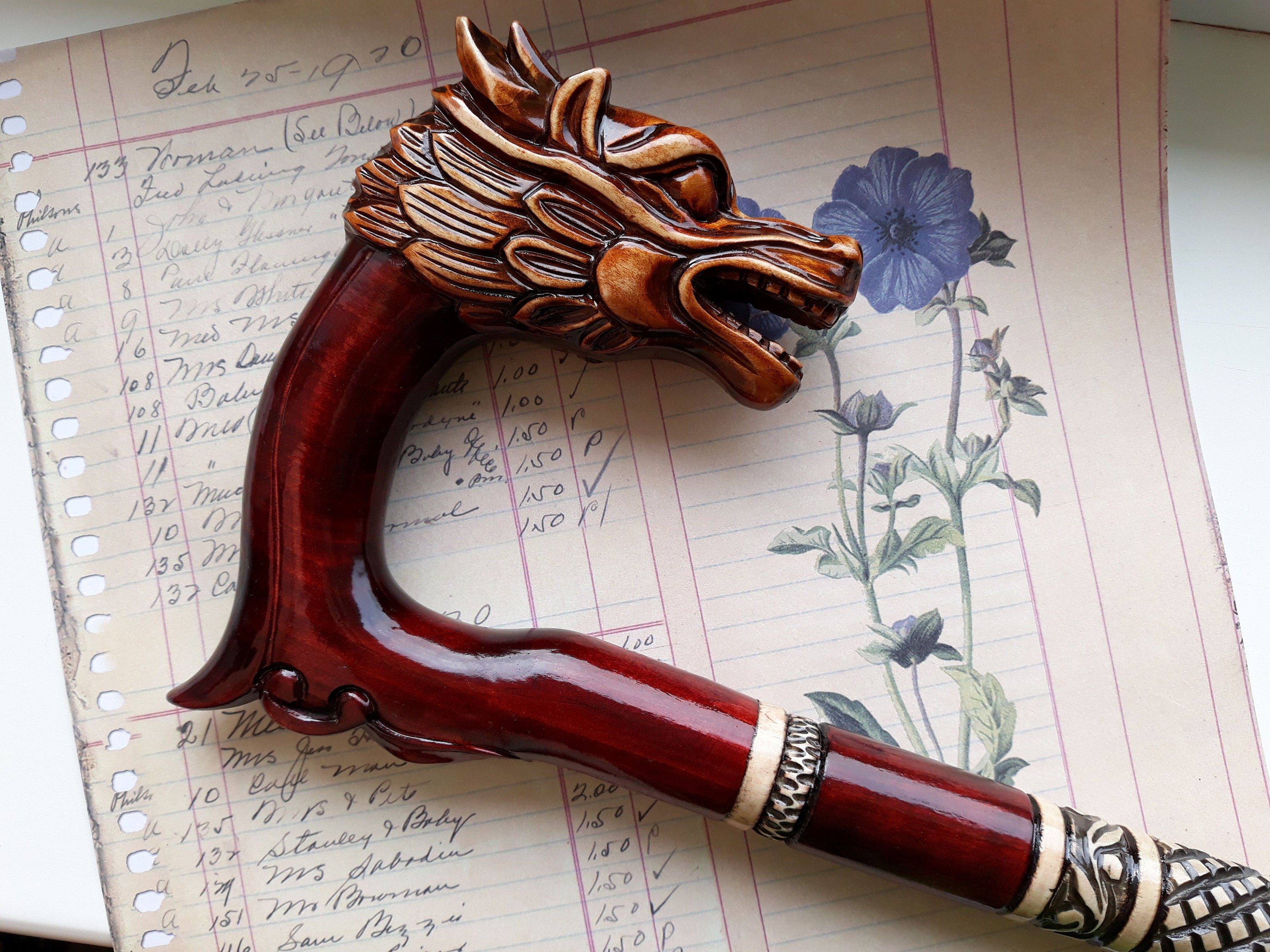 Walking Cane Dragon Wooden Canes For Men Hand Carved Walking Sticks Wood Walking Canes Men Custom Walking Cane Canes And Walking Sticks