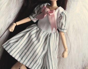 Pullip Doll Obitsu • striped Sailor dress