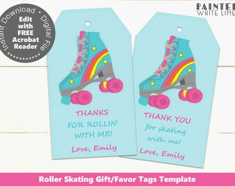 graphic relating to Roller Skate Template Printable named Skating printable Etsy