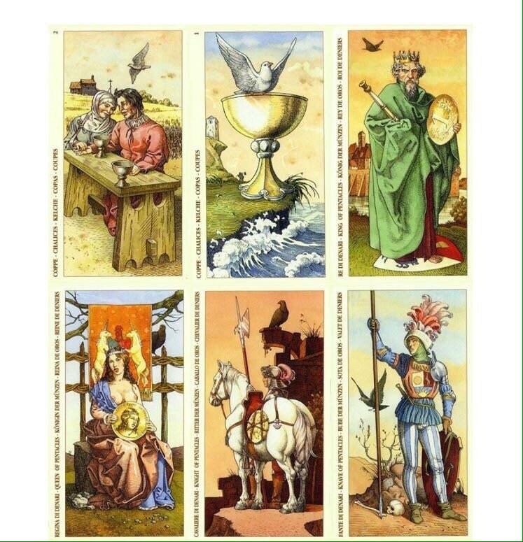 Durer Tarot Deck Tarot Fortune Telling Cards Printable Etsy
