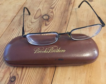 a10608a6def Brooks Brothers Glasses and Case BB 338 1154 50•18 135 (Vintage)