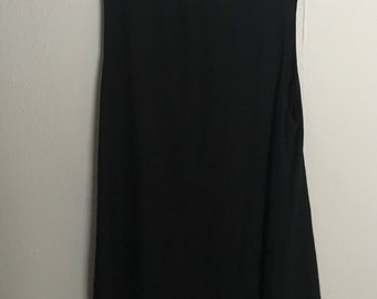 LuLu's Black Fringe Dress | size M | black dress