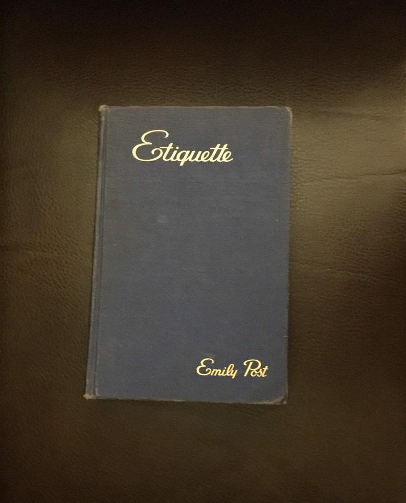 Emily Post Wedding Etiquette.Etiquette Emily Post 1945 Vintage Manners Wedding Etiquette Published Under Wartime Conditions