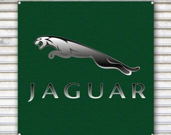 Signature Jaguar Wooden Sign VPAWSIGN10 retro parts usa custom rat truck