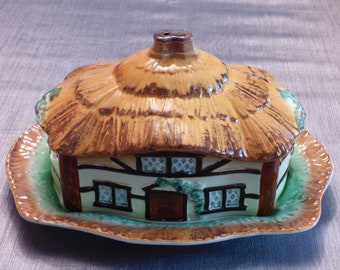 1950's Cottage Butter Dish