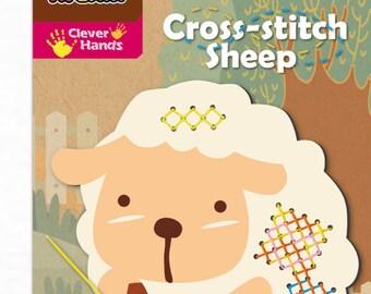 Cross Stitch Sheep Craft Set