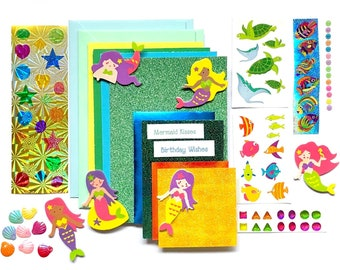 Mermaid Card Making Kit
