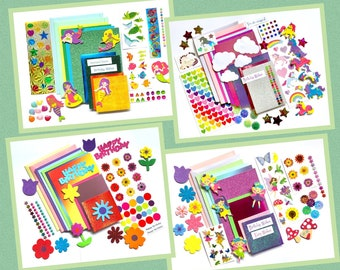 Children's card making kits, Various