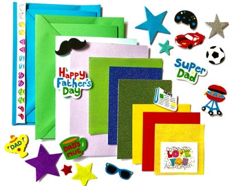 Fathers Day Card Making Set
