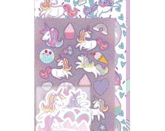 Unicorn assortment Sticker Pack