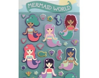 Mermaid Sticker Sheet