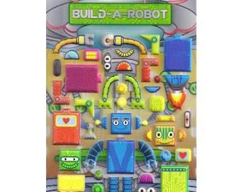 Build a Robot Foam Stickers