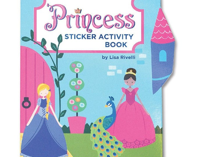 Featured listing image: Princess Sticker Activity Book