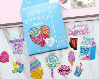 Sparkle Stickers, Sweet Treats