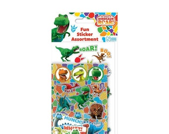 Dinosaur sticker assortment pack