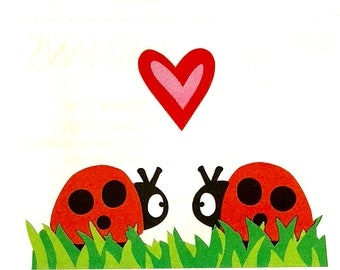 Ladybird Stickers x 2 sheets