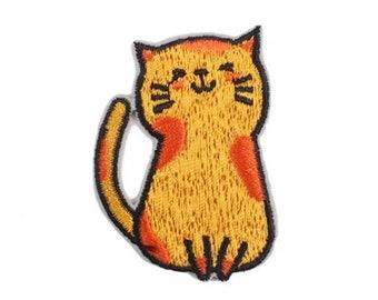 Cat iron on patch