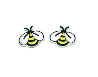 Mini bee patch x 2
