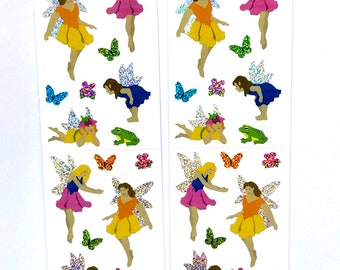 Fairy sparkle sticker sheets