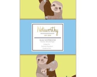 Sloth slim notebook