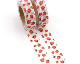 Strawberry Washi tape roll,