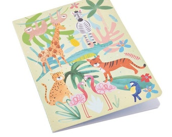 Jungle Notebooks, Set of two,