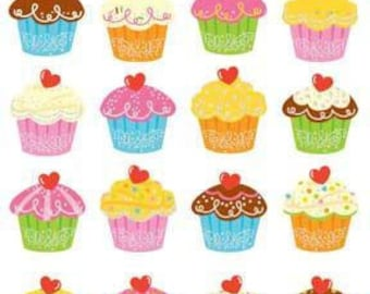Cupcake Bonanza Sticker Sheet