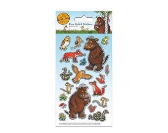 The Gruffalo foiled sticker sheet