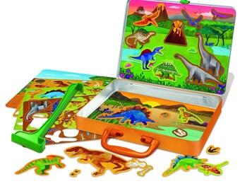 Dinosaur Magnets Thinking Kit