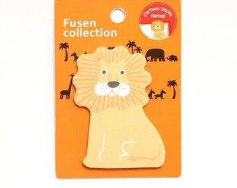 Lion Sticky Notes Pad