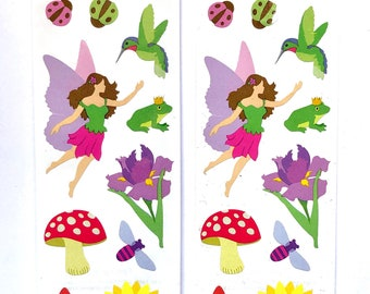 Fairy sticker sheets